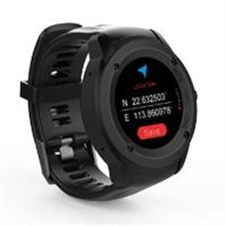 GHIA SMART WATCH DRACO /1.3 TOUCH/ HEART RATE/ BT/ GPS/ GAC-071 / COLOR NEGRO/NEGRO