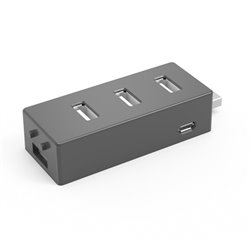 X-MEDIA CA XM-UH2004 HUB 4 PUERTOS USB 2.0 EXPANSIBLE 7-Port Hub