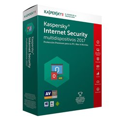 KASPERSKY SW ANTIVIRUS INTERNET SECURITY MULTIDISPOSITIVOS 1 USUARIO