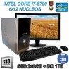 PC INTEL I7-8700 12 NÚCLEOS MONITOR FULL HD SSD 1TB MEMORIA DDR4