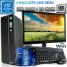 PC SLIM INTEL CELERON J4105 4 NÚCLEOS MONITOR HD LED 120GB SSD 4GB WIFI