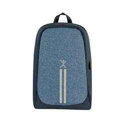 MOCHILA PERFECT CHOICE 15.6 AZUL ANTI ROBO