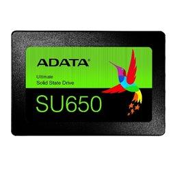 UNIDAD SSD INTERNO ADATA 240GB SU650 SATA III 2.5 MODELO ASU650SS-240GT-R