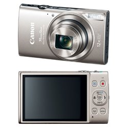 CAMARA DIGITAL CANON POWER SHOT ELPH 360 HS PLATA