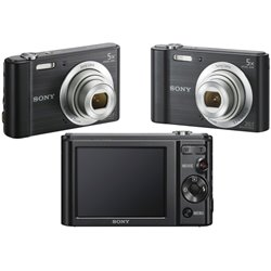 CAMARA SONY CYBER-SHOT SONY 20.1 MPX,Z/5X LCD 2.7,USB,BAT.REC,V/HD,360I,NEG
