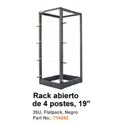 RACK INTELLINET 4 POSTES 26U 558X515X1295 MM