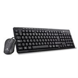 KIT TECLADO Y MOUSE ALAMBRICO MULTIMEDIA USB NEGRO TECHZONE