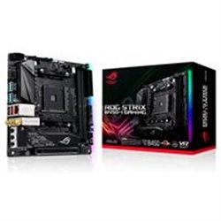MB ASUS B450 AMD S-AM4 2A GEN/2X DDR4 2666/HDMI/M.2/4X USB 3.1/BLUETOOTH/MINI ITX/GAMA ALTA/GAMER/RGB