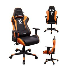 GIB CA GP-AGC300 AORUS Gaming Chair Black+Orange