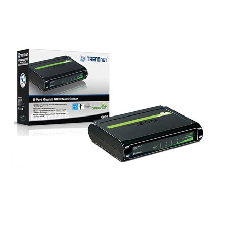 TREDNET NP TEG-S5G Mini switch gigabit 5 puertos 10/100/1000Mbps (chasis de plastico)