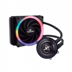 ENFRIAMIENTO LIQUIDO YEYIAN RGB 120MM INT/AMD VATN SERIE 1200 (WC1200)