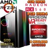 ★PC GAMER RYZEN 5 AMD RX-460 2GB DDR5 8GB DDR4 1TB