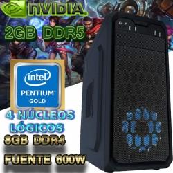 OFERTA❤ CPU GAMER BARATO INTEL SKYLAKE NVIDIA GT-1030 2GB DDR5 8GB DDR4