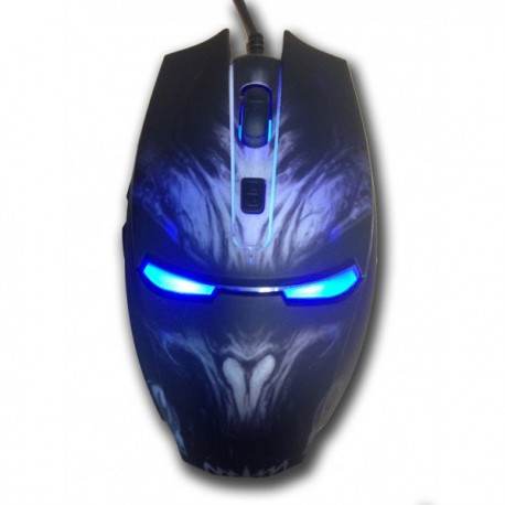 MOUSE OPTICO GAMING EAGLE WARRIOR G14 DPI: 800-1200-1600-2400