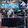 KIT EAGLE WARRIOR G79 2 EN 1 TECLADO + MOUSE GAMING USB