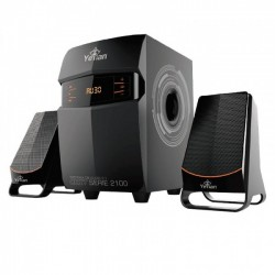 BOCINAS YEYIAN SONIDO ESTEREO 2.1 DISPLAY LED/BT/SD/USB/FM YSK2100