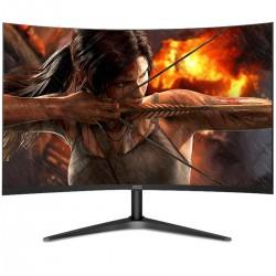 MONITOR LCD LED CURVO AOC 27 / HDMI / VGA / ASPECTO 16:9 / TIEMPO DE RESPUESTA 4 MS / RESOLUCIÓN 1920 X 1080 / BRILLO 250 CD/M2