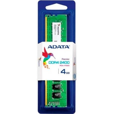MEMORIA ADATA 4GB U-DIMM 4GB 2400-SINGLE TRAY AD4U2400J4G17-S