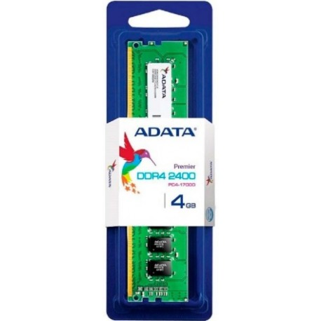 MEMORIA ADATA 4GB U-DIMM 4GB 2400-SINGLE TRAY AD4U2400J4G17-S