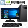 PC INTEL CORE I3-9100 4.2GHZ NVIDIA MONITOR FULL HD SSD 1TB DDR4 8GB