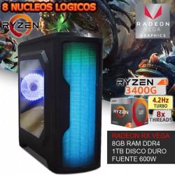 CPU GAMER AMD RYZEN 5 3400G VIDEO RX VEGA