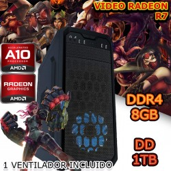 CPU GAMER AMD A10-7850K VIDEO 2GB RADEON R7 1TB MEMORIA 8GB DUAL CHANEL CROSSFIRE
