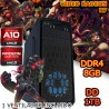 CPU GAMER AMD A10-7850K VIDEO 2GB RADEON R7 1TB MEMORIA 8GB DUAL CHANEL CROSSFIRE