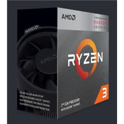 CPU AMD RYZEN 3 3200G A-AM4 4GHZ QUADCORE YD3200C5FHBOX
