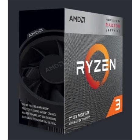 CPU AMD RYZEN 3 3200G A-AM4 4GHZ QUADCORE YD3200C5FHBOX