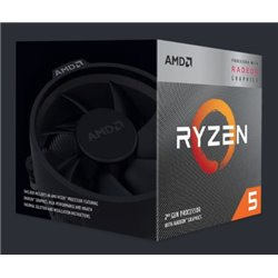 CPU AMD RYZEN 5 3400G S-AM4 4.2GHZ YD3400C5FHBOX