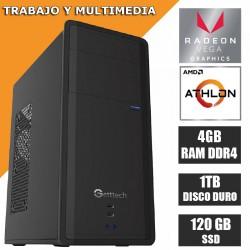 ❤OFERTA! COMPUTADORAS amd athlon 2 NÚCLEOS ssd