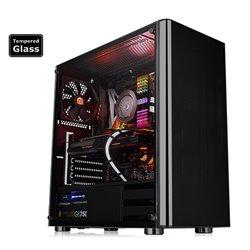 THE CS CA-1K8-00M1WN-00 V200 TEMPERED GLASS EDITION MID TOWER ATX / M-ATX / M-ITX BAHIAS 3 x 2.5 HIDDEN 2 x 3.5 SLOT EXP 7