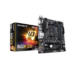 GIGABYTE MB GA-B450M DS3H AMDB450 SOCKET AM4 RYZEN 1era y 2da GEN y RYZEN con GRAFICOS RADEON VEGA 4xDDR4 hasta 64GB DVID/HDMI 4
