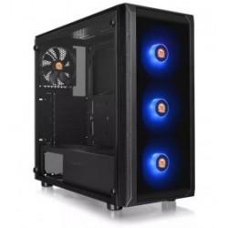 THE CS CA-3L8-60M1WU-00 Versa J25 Tempered Glass ARGB Edition Mini ITX Micro ATX ATX Mid Tower Bahias Accessible 2 x 2.5(HDD Br