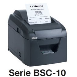 MINIPRINTER TERMICA BSC-10UDG STAR MICRONICS USB/SERIAL ETHERNET 250MM/S 3IN CON CORTADOR NEGRA