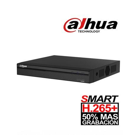 DAHUA XVR4108HSX1- DVR 8 CANALES HDCVI PENTAHIBRIDO 1080P LITE/ H265+/ 2 CH IP ADICIONALES 8+2/ 1 SATA HASTA 6TB/ SMART AUDIO HD