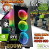 ★PC GAMER RYZEN 5 3600X NVIDIA RTX 2060 SUPER 8GB DDR6 16GB DDR4 SSD