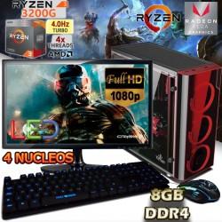 PC GAMER AMD RYZEN 3 2200G VIDEO RADEON VEGA MONITOR