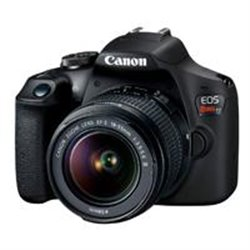 CAMARA CANON EOS REBEL T7 24.10 MP C/LENTE 18-55MM, CMOS, WIFI, NFC, LCD 3.0 FULL HD
