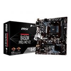 MB MSI B450 AMD S-AM4 2A GEN/4X DDR4 2666/HDMI/VGA/DVI/M.2/4X USB 3.1/MICRO ATX/GAMA MEDIA