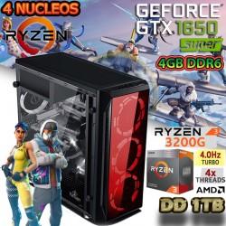 CPU GAMER AMD RYZEN 3 3200G NVIDIA GTX 1650 SUPER