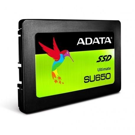 """UNIDAD SSD ADATA SU650 960GB SATA III 2.5"""" (ASU650SS-960GT-R)"""