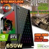 ★PC GAMER RYZEN 5-3600 NVIDIA RTX-2060 SUPER 8GB DDR6 16GB