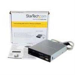 ADAPTADOR BAHíA FRONTAL 3.5IN PULGADAS CONEXIóN HEADER USB LECTOR PARA TARJETAS MEMORIA FLASH SD CF SDHC XD M2 MS 22EN1 - STAR