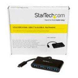 HUB CONCENTRADOR USB 3.0 DE 4 PUERTOS - USB-C A 4X USB A ALIMENTADO POR EL BUS - CONVERSOR DE USB C A USB CONVENCIONAL - STARTEC