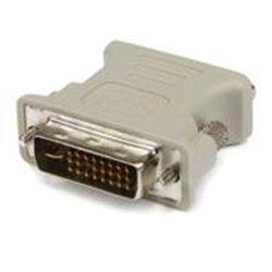 ADAPTADOR CONVERTIDOR DVI-I A VGA - DVI-I MACHO - HD15 HEMBRA - BLANCO - STARTECH.COM MOD. DVIVGAMF