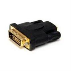 ADAPTADOR HDMI A DVI - DVI-D MACHO - HDMI HEMBRA - CONVERTIDOR DE VIDEO - NEGRO - STARTECH.COM MOD. HDMIDVIFM