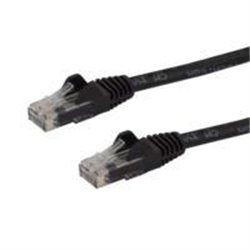 CABLE DE RED ETHERNET SNAGLESS SIN ENGANCHES CAT 6 CAT6 GIGABIT 5M - NEGRO - STARTECH.COM MOD. N6PATC5MBK