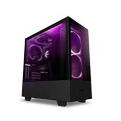 GABINETE NZXT H510 ELITE COMPACT NEGRO-MATE MEDIA TORRE MINI ITX, MICRO ATX, ATX CRISTAL TEMPLADO RGB GAMER