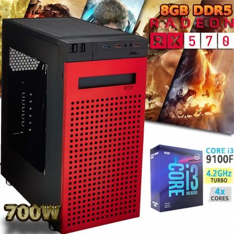 ★CPU GAMER CORE I3-9100 4 NÚCLEOS NVIDIA GTX-1050 3GB DDR5
